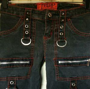 ISO: Tripp NYC Skinny Jeans in Black&Pink
